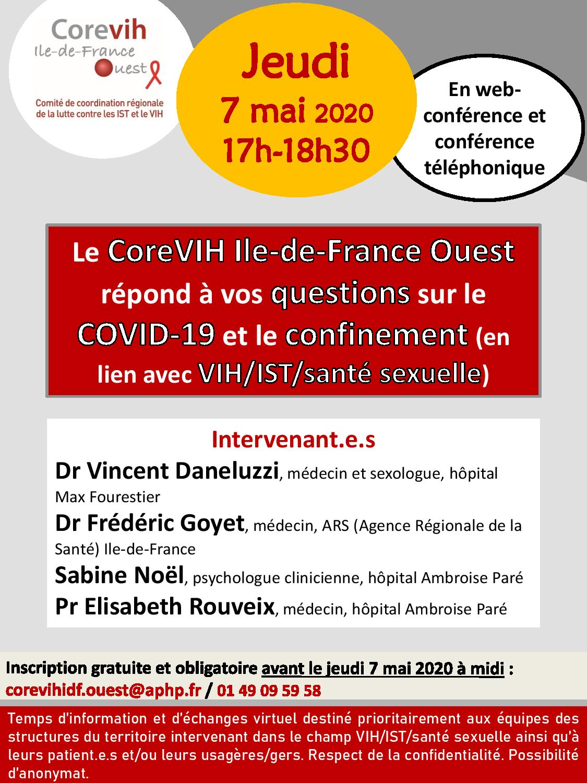 Réponse à vos questions sur COVID-19 et VIH
